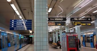 Suède Stockholm station 2