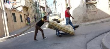 Cuba rue matelas